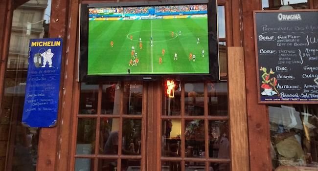 La coupe du monde de football et l'Ardoise Numérique